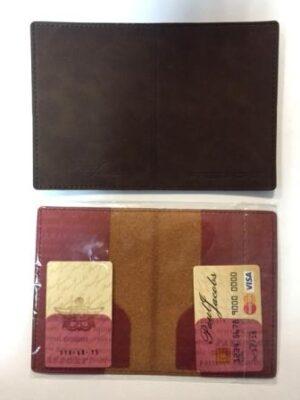 Паспорт шкіра Paul таском