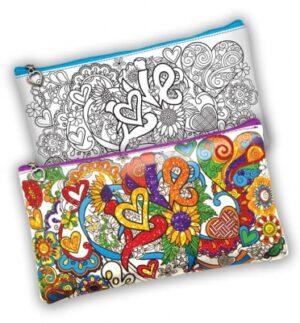 Набір для дитячої творчості Покосенко розмальовка My color Clutch CCL-01-01U,02U,03U