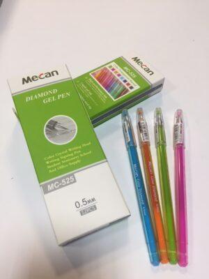 Ручка Diamond MC-525 рожева (12шт/уп)