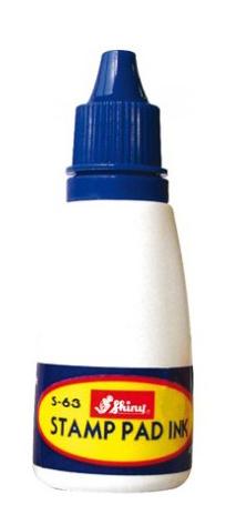 Фарба штемпельна 28мл S-63 синя шайні