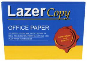Папір а4 80г/м2 100арк Lazer Copy