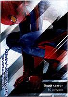 Картон білий Kite SM12-254K Spider Man