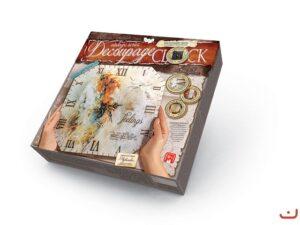 Набір для творчості Годинник Покосенко Decoupage clock без рамки DKС-01