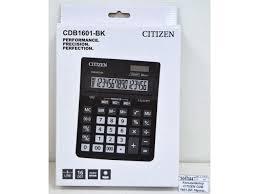 Калькулятор Sitizen CDB 1601-BK